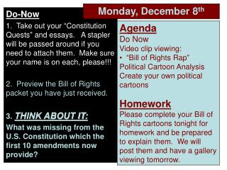 Bill of Rights Raps