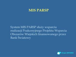 MIS PARSP