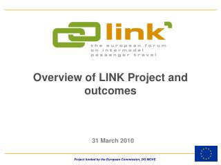 Overview of LINK Project and outcomes