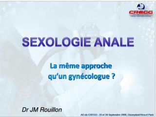 Dr JM Rouillon