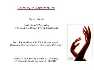 Chirality in Architecture