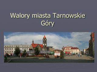 Walory miasta Tarnowskie Góry