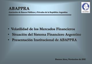 ABAPPRA   Asociación de Bancos Públicos y Privados de la República Argentina
