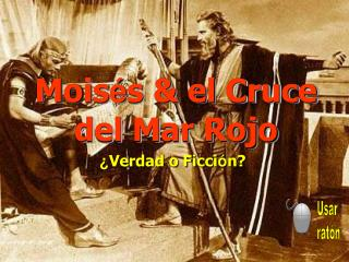 Mo is � s & el  Cruce del Mar Rojo