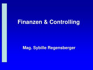 Finanzen & Controlling