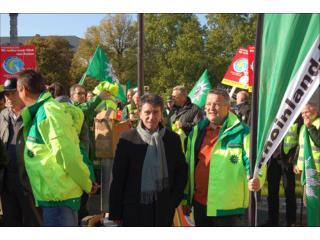 Hans Peter Michel, GdP-Vorsitzender BG Vorderpfalz parodiert Ministerialrat Dr. Elpers, ISM