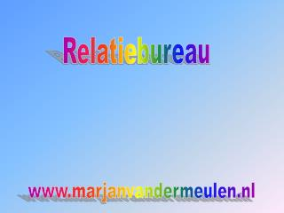Relatiebureau