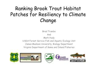 Ranking Brook Trout Habitat Patches for Resiliency to Climate Change