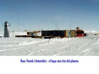 Base Vostok (Antartida) - el lugar mas frio del planeta