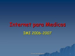 Internet para Medicos