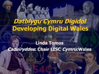 Datblygu Cymru Digidol  Developing Digital Wales Linda Tomos