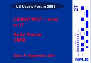 LS User s Forum 2001