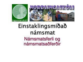 Einstaklingsmiðað námsmat