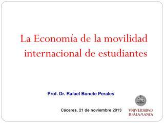 La Economía de la movilidad internacional de estudiantes