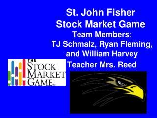 St. John Fisher  Stock Market Game