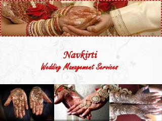 Navkirti Wedding Management Services