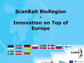 ScanBalt BioRegion - Innovation on Top of Europe