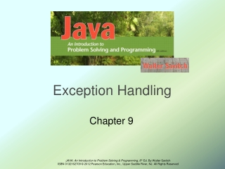 Files, Applets,  Exceptions