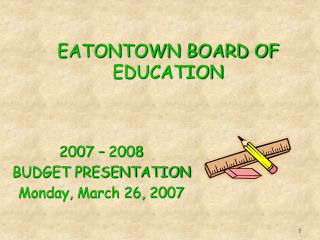 EATONTOWN BOARD OF EDUCATION