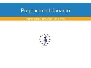 Programme Léonardo