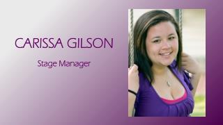 CARISSA GILSON