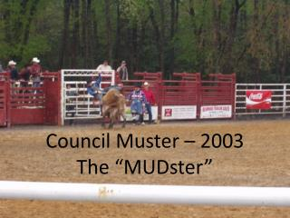 "Council Muster – 2003 The ""MUDster"""