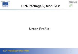 Urban Profile