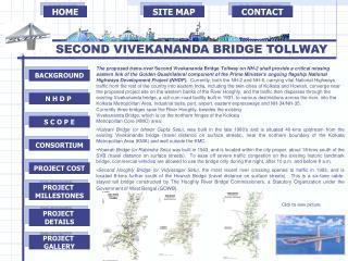 SECOND VIVEKANANDA BRIDGE TOLLWAY