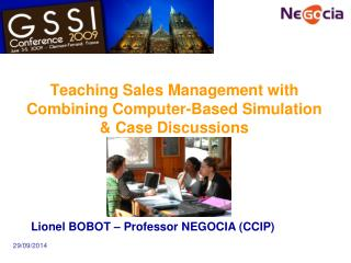 Teaching Sales Management with Combining Computer-Based Simulation & Case Discussions