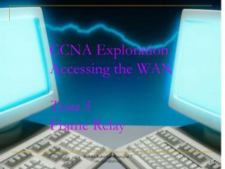 CCNA Exploration Accessing the WAN Тема  3 Frame Relay