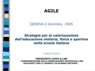 AGILE GENOVA 2 dicembre  2005