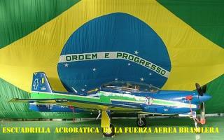 ESCUADRILLA  ACROBATICA  DE LA FUERZA AEREA BRASILERA