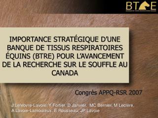 Congr�s APPQ-RSR 2007