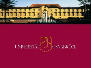 University of Osnabr ck in Northwest Germany