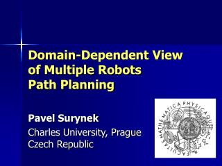 Domain-Dependent View of Multiple Robots Path Planning