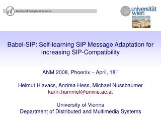Babel-SIP: Self-learning SIP Message Adaptation for Increasing SIP-Compatibility