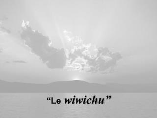 """""""Le  wiwichu"""""""