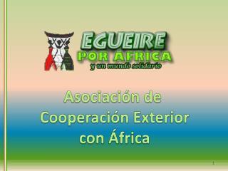 Asociación de  Cooperación Exterior con África