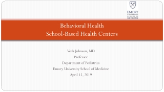 School-Mental Health System Integration  Lessons Learned