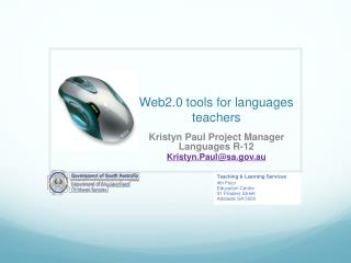 Web2.0 tools for languages teachers