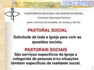 CONFERÊNCIA NACIONAL DOS BISPOS DO BRASIL Comissão Episcopal Pastoral