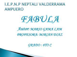 I.E.P.N.P NEPTALI VALDERRAMA AMPUERO