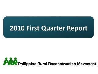 2010  First Quarter Report