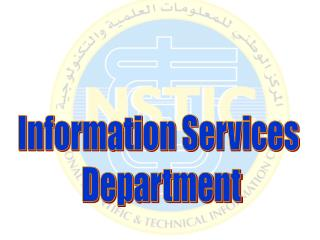 Information Services  Department