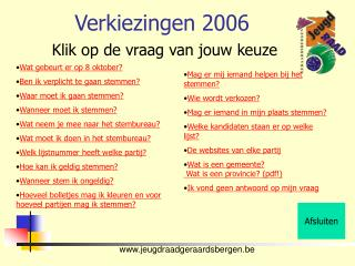 Verkiezingen 2006