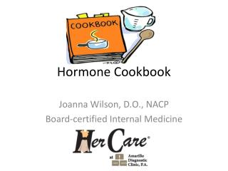 Hormone Cookbook
