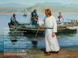 Meu barquinho O vento balançou meu barco em alto mar, O medo me cercou e quis me afogar;