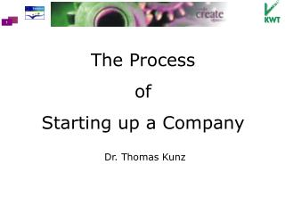 The Process  of  Starting up a Company