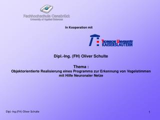 Dipl.-Ing.(FH) Oliver Schulte