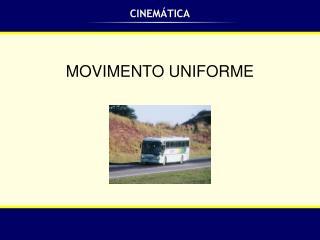 CINEM�TICA